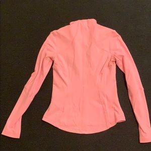 Pink Lululemon define jacket size 8